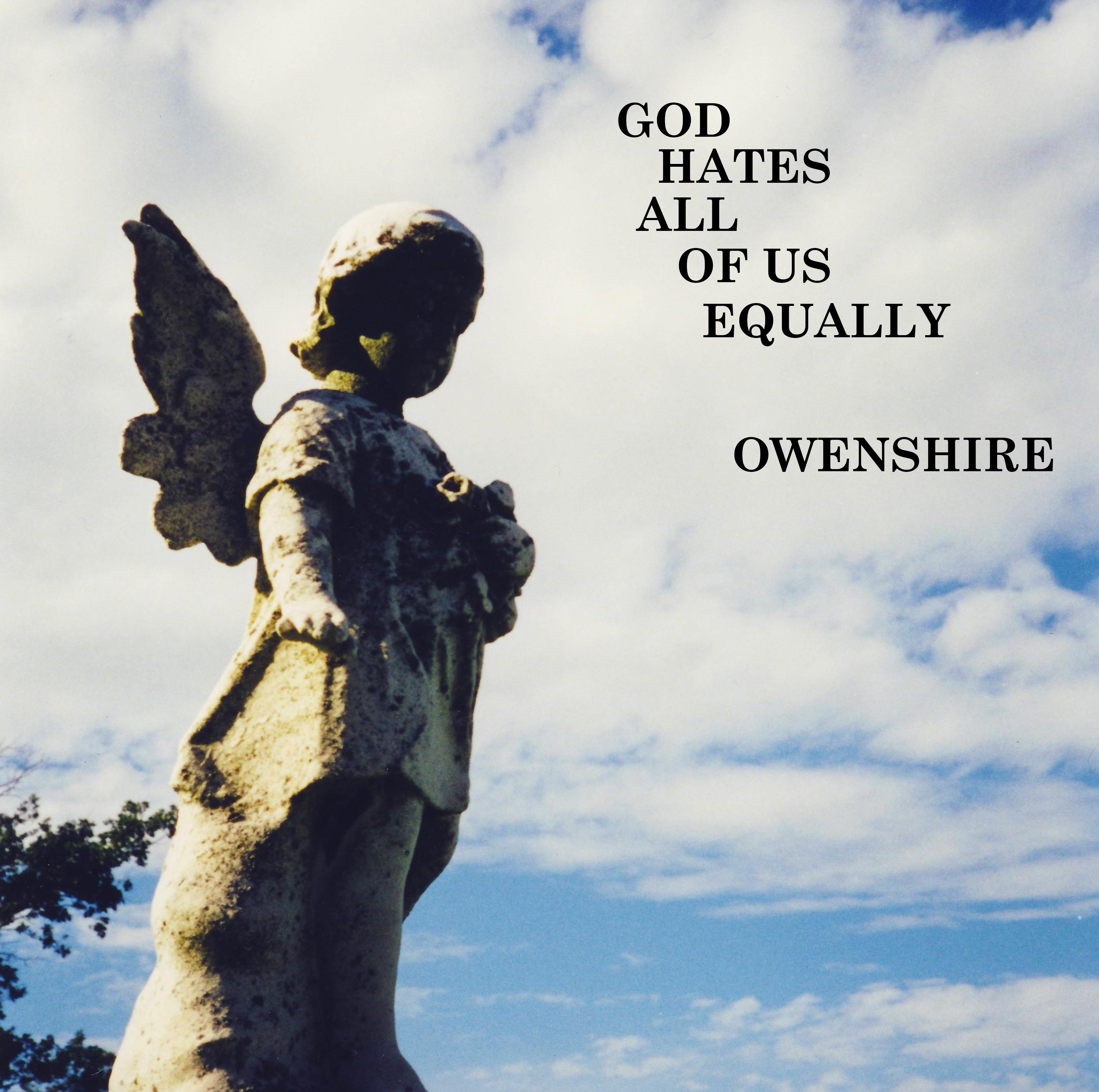 Owenshire God Hates All of Us Equally Album Cover Robert Muhlbock