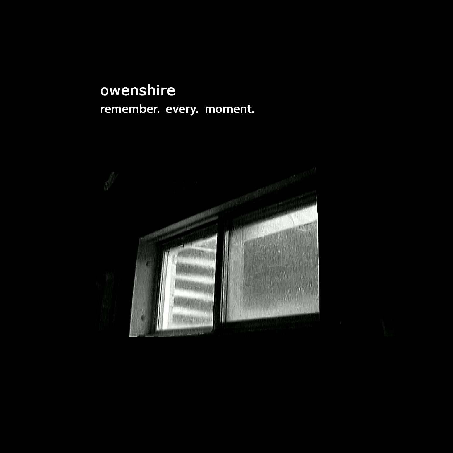 Owenshire Remember Every Moment Front Cover