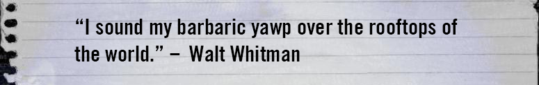 Whitman Quote Discography
